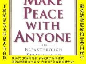 二手書博民逛書店Make罕見Peace With AnyoneY256260 Dr. David J. Lieberman P