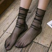 復古網紗女韓國鏤空夏透明襪薄款襪子