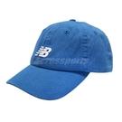 New Balance 帽子 Logo Baseball Cap 藍 白 男女款 老帽 棒球帽 運動休閒 【PUMP306】 LAH91014CO