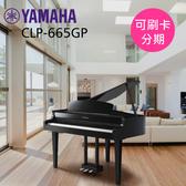 小叮噹的店 - YAMAHA CLP-665GP 88鍵 Clavinova系列 數位鋼琴 電鋼琴 平台式 光澤黑色