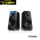 T.c.star 連鈺 AUX IN/藍牙兩用多媒體喇叭 TCS2000