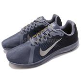Nike 慢跑鞋 DownShifter 8 藍 黑 低筒 路跑 運動鞋 基本款 男鞋【PUMP306】 908984-011