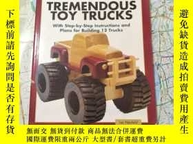 二手書博民逛書店tremendous罕見toy trucksY8088 出版20