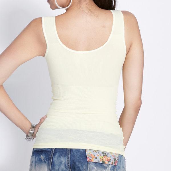 【MADONNA 瑪丹娜 - 99元免運費】無鋼圈280丹美胸挺背背心裙 1件組 7706  塑身 產後塑身 (隨機選色)