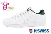 K-Swiss Clean Court CMF休閒鞋 男鞋 真皮 運動鞋C9944#白綠◆OSOME奧森童鞋/小朋友