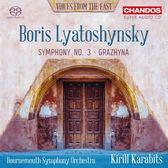 【停看聽音響唱片】【SACD】利亞托申斯基:第三號交響曲等 卡拉畢茲 指揮