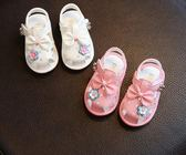 618好康又一發 女寶寶涼鞋0-1-2歲寶寶鞋子春夏軟底學步鞋