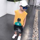童裝男童夏裝套裝背心純棉寶寶無袖夏季兒童運動兩件套潮 小確幸生活館