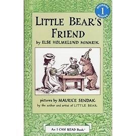 〈汪培珽英文書單〉An I Can Read系列  LITTLE BEAR'S FRIEND / L1