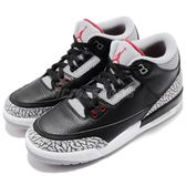 Nike Air Jordan 3 Retro OG BG III Black Cement 黑 灰 黑水泥 喬丹 三代 女鞋 大童鞋【PUMP306】 854261-001
