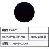磁鐵 中圓 20x5mm無孔