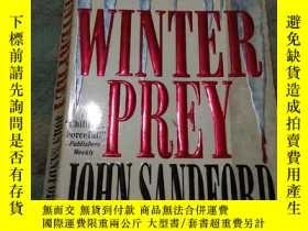 二手書博民逛書店WINTER罕見PREY,英文原版,32開Y215319 Joh