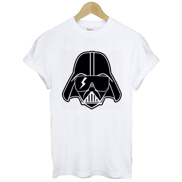 Lady Gaga-Darth Vader短袖T恤 2色 女神卡卡Star Wars人物相片潮流搖滾樂團 390