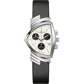 Hamilton 漢米爾頓 VENTURA 盾形石英計時手錶 H24432751
