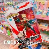 美版 BANDAI ANIME HEROES 我的英雄學院 爆豪勝已 可動公仔 擺飾 COCOS FG680