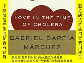 二手書博民逛書店Love罕見in the Time of Cholera[霍亂時