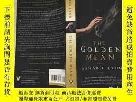 二手書博民逛書店The罕見Golden Mean中庸之道(英文、原版)Y1999