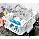 瀝水架 高品質塑料大號瀝水碗盆 廚房滴水碗碟架 放碗盆濾碗盆碗架收納架
