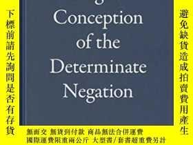 二手書博民逛書店Hegel s罕見Conception Of The Determinate Negation-黑格爾的確定否定概