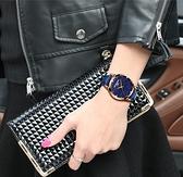 手表女士時尚潮流女表真皮帶防水表學生石英表韓版超薄 極簡雜貨