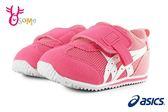 ASICS IDAHO BABY KT-ES 亞瑟士 寶寶運動鞋 小童 足弓墊 機能鞋 A9110#粉紅◆OSOME奧森鞋業