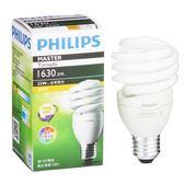 Philips 飛利浦 T2 螺旋省電燈泡23W黃光【愛買】