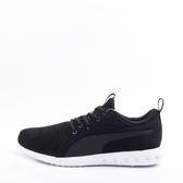 PUMA  輕量 透氣 舒適氣墊鞋墊 男慢跑鞋-黑/白 190037-05