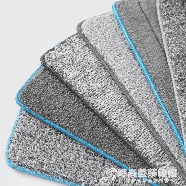 拖把 家用刮刮樂黏貼式免手洗拖把替換布拖布頭懶人平板拖布不髒手墩布 時尚芭莎WD