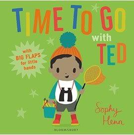 【場景猜謎】TIME TO GO WITH TED /硬頁翻翻書《主題:動物.想像力》