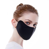 口罩 春夏女士防曬口罩易呼吸面罩男士黑色薄款透氣護眼角口罩-Ballet朵朵