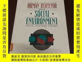二手書博民逛書店Human罕見Behavior and the Social e