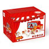《 希臘 MiDeer 》歡樂馬戲團分類積分拉車╭★ JOYBUS玩具百貨
