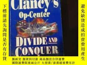 二手書博民逛書店英文原版罕見Tom Clancy s Op-Center Div