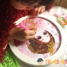 鉆石貼畫益智手工diy制作材料包粘貼女童玩具【淘嘟嘟】
