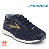 【BROOKS】男款支撐型慢跑鞋 4E 超寬楦 BEAST 16 -暗藍色(274E413) 全方位跑步概念館