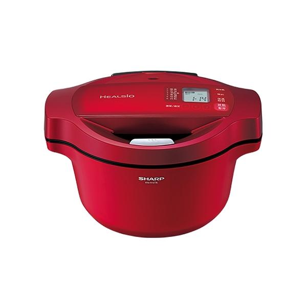 SHARP 夏普 1.6L 無水鍋(紅) KN-H16TA