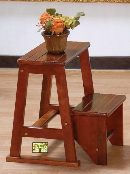 [ 家事達] TMT- (TGP-016) 品特實木樓梯椅 特價~