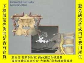 二手書博民逛書店Atlas罕見of Neurosurgical Techniques: Spine and Peripheral