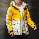 男士外套工裝 韓版外套羽絨外套 冬季潮流棉服上衣 日系棉衣夾克外套加絨 學生潮流男生外套