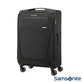Samsonite新秀麗 29吋B-Lite商務型大容量飛機輪可擴充布面TSA海關鎖行李箱(海軍藍)