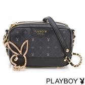 PLAYBOY- 鍊帶包 Black Beauty 黑晶兔系列-明星黑