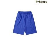 快樂購 短褲男 運動 休閒 短褲 寬鬆 中褲 薄款 沙灘褲