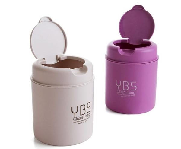 <特價出清>迷你桌面清潔翻蓋小垃圾桶 聖誕節交換禮物 【AF07250】i-Style居家生活