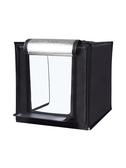 led迷你小型攝影棚拍攝產品道具拍照燈箱補光燈套裝拍攝燈柔光箱簡易便攜拍攝 LX交換禮物