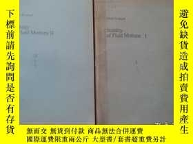 二手書博民逛書店stability罕見of fluid motions I II 全2卷Y10445 DANIEI D.JOS
