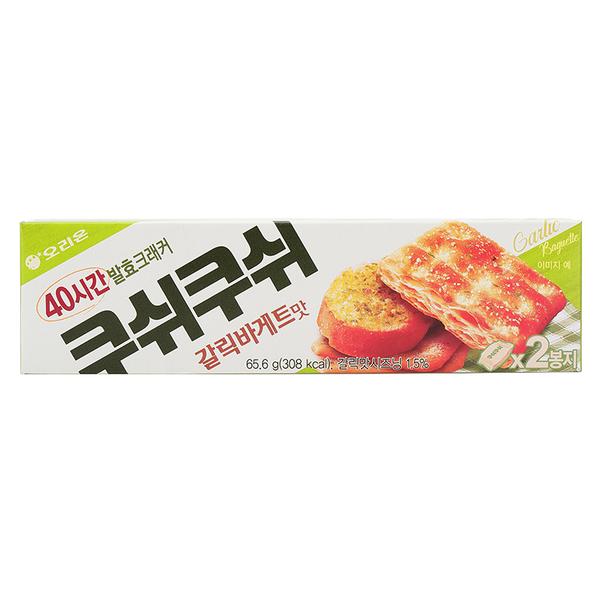 ORION千層餅乾 大蒜麵包味 65.6g【庫奇小舖】
