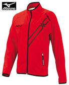 MIZUNO美津濃 男休閒平織外套 D2TC408262 (紅) 抗紫外線 SlimFIT合身 單層 外套【 胖媛的店 】