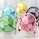 [拉拉百貨] 不挑色 USB炫彩桌上型風扇 辦公室用 靜音 小電扇 涼感風扇 避暑 午睡 消暑 降溫