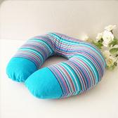蕎麥u型枕頭護頸枕飛機旅行u形枕午睡枕u枕護脖子頸椎脖枕枕