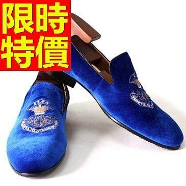 男皮鞋-百搭魅力懶人休閒男樂福鞋1色59p14[巴黎精品]